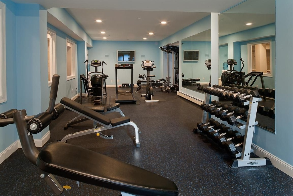 Cool Home Gym Decorating Ideas Home Furniture Design