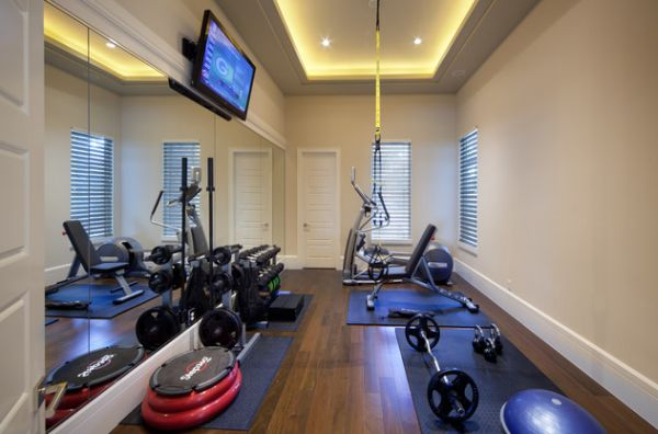 7 tips voor een motiverende fitnessruimte in huis for Huis interieur tips