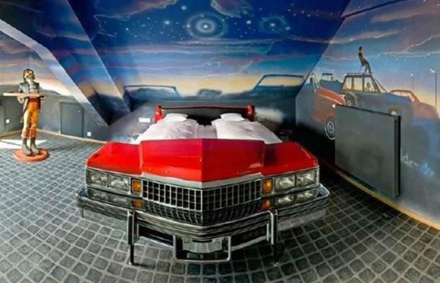 Cars Slaapkamer Decoratie : Cool Kids Car Bedroom