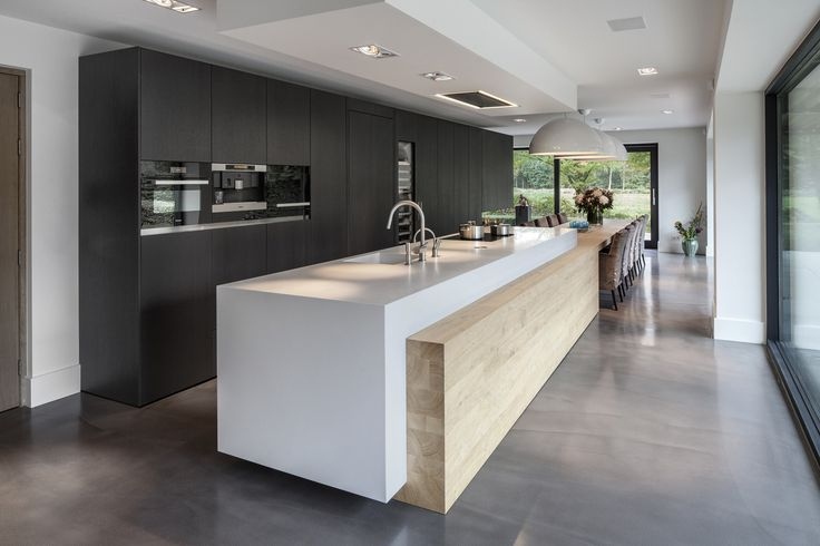 Keuken Modern Strak : High-End Kitchens Interiors