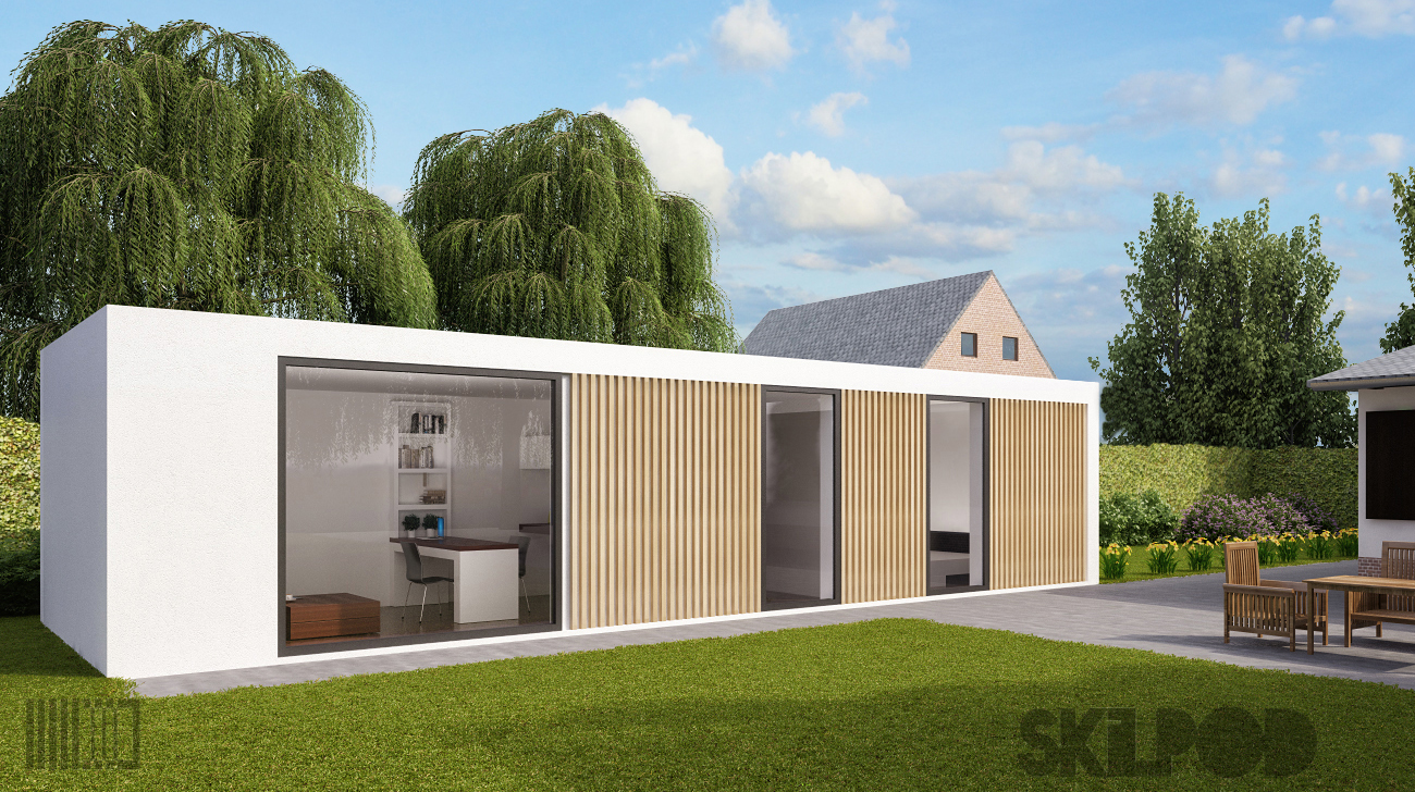 5 knappe containers waarin je meteen wil wonen for Prefab units